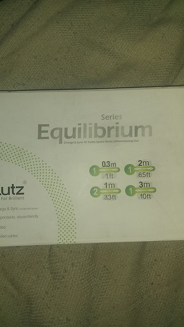 Volutz Equilibrium Series 5 Cord Sets C Cable For Sale In