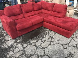 Red Sectional Couch For In Richmond Va