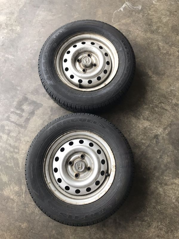 2 Honda steelies 13inch 4x100 for Sale in Everett, WA ...