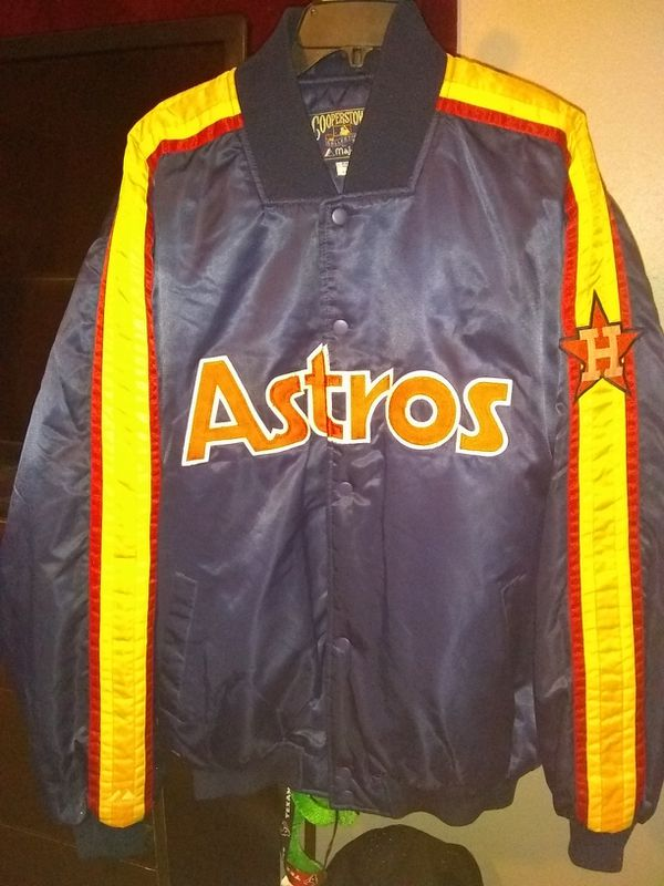 16fe6d8d51d Astros Throwback Jacket XXL for Sale in Houston