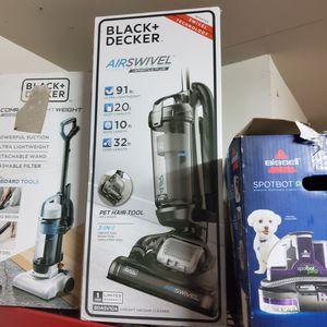 Photo Black and decker air swivel vacuum