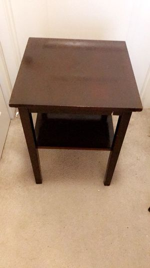 Nightstand Table for Sale in Tysons, VA