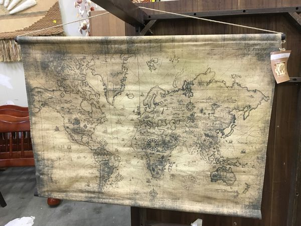 Hobby lobby brand new tapestry old world map home garden in hobby lobby brand new tapestry old world map home garden in harrisburg pa offerup gumiabroncs Images