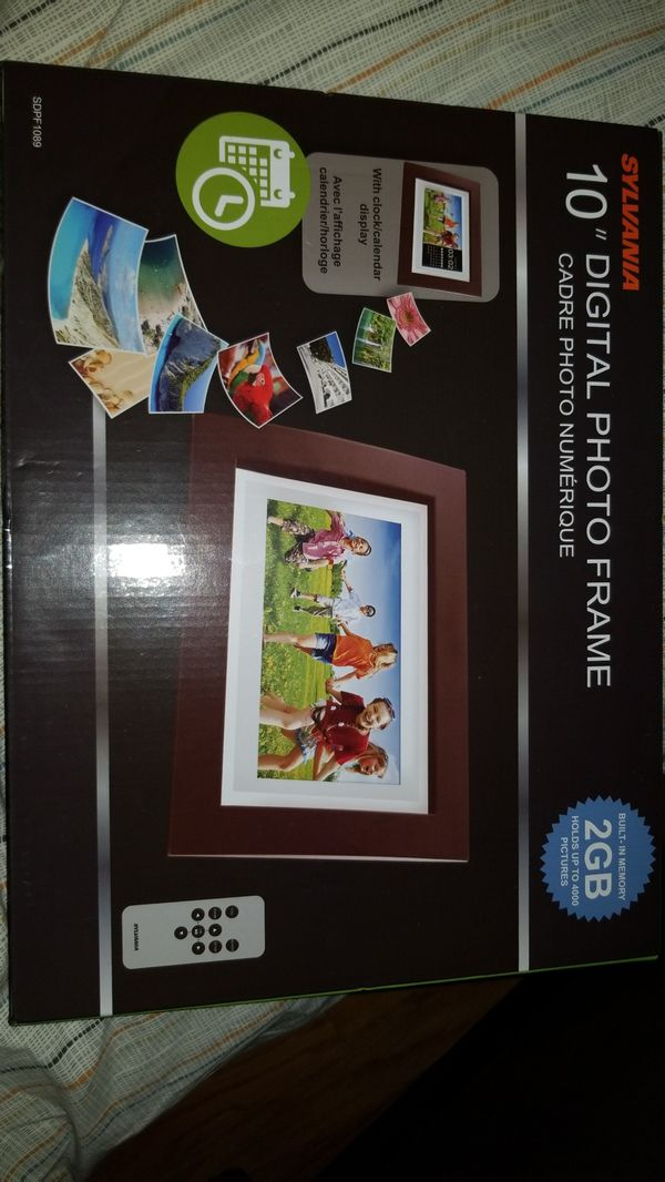 Sylvania 10 Digital Photo Frame Sdpf1089 Best Photos And