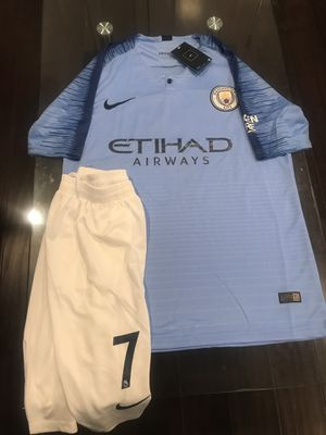 Manchester City Sterling player version Kit for Sale in Sterling, VA