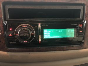 Photo Kenwood eXcelon KDC-X994 w/ Auxiliary Cable, iPod Cable, & ASWC In-Dash CD/MP3/WMA Receiver with Full Dot LCD Display and Built-in Bluetooth