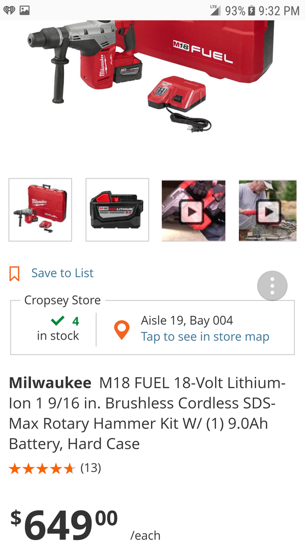 milwaukee 2717 21hd for sale in queens ny offerup