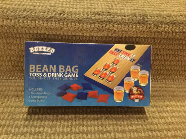 Super Brand New Buzzed Bean Bag Toss Drink Game For Sale In Evergreenethics Interior Chair Design Evergreenethicsorg