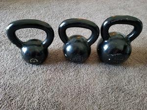 Kettlebells (12kg, 16kg, 24kg) for Sale in Orlando, FL