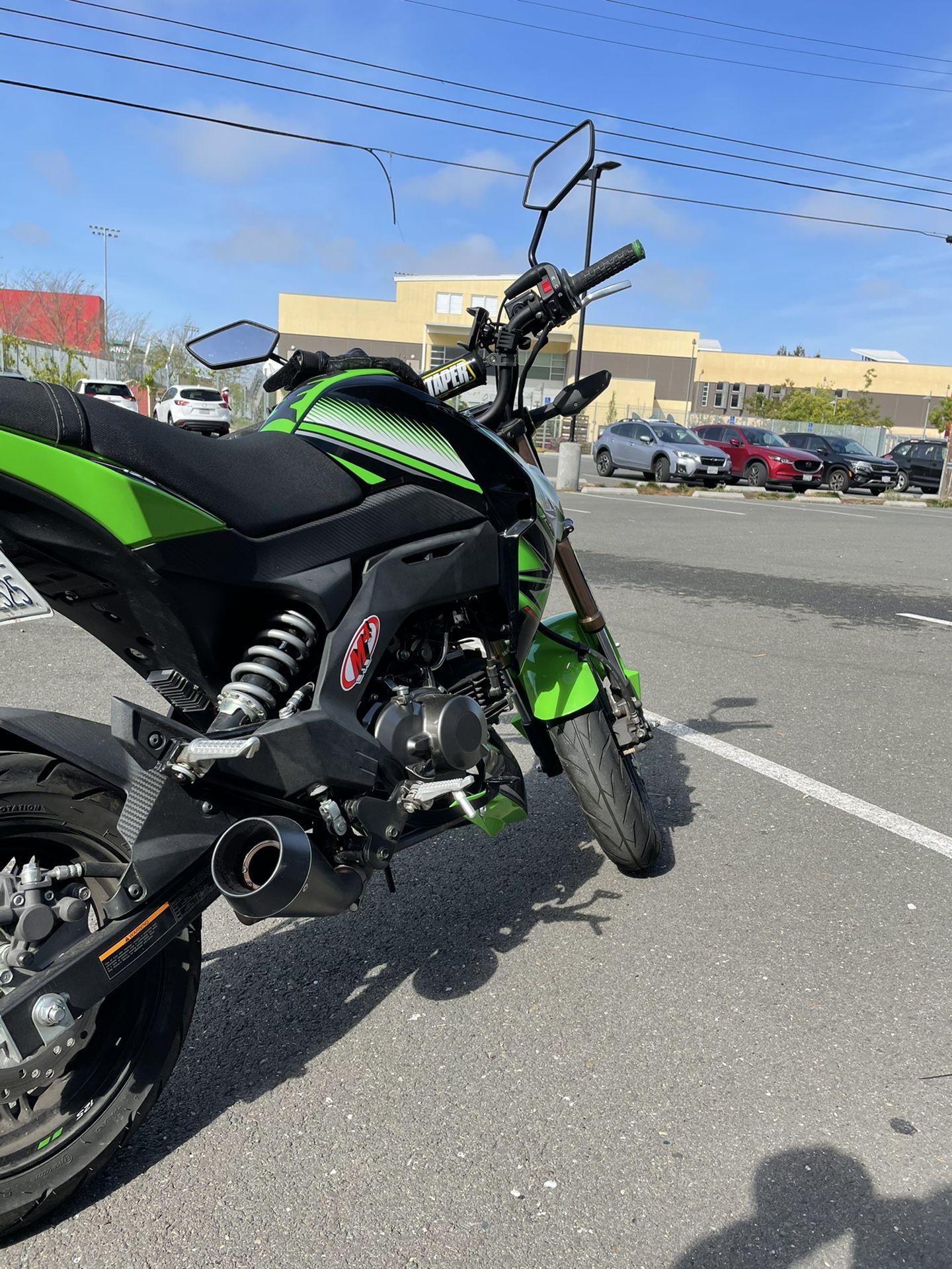 2018 Kawasaki z125 pro KRT