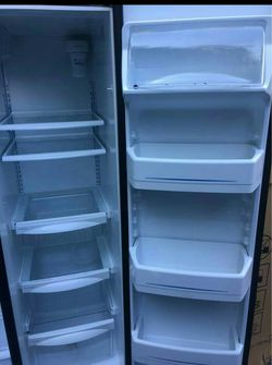 Stainless steal double door fridge Thumbnail