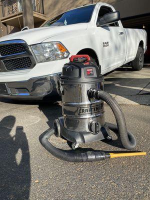 Photo Craftsman Shop vacuum works amazing $40.00