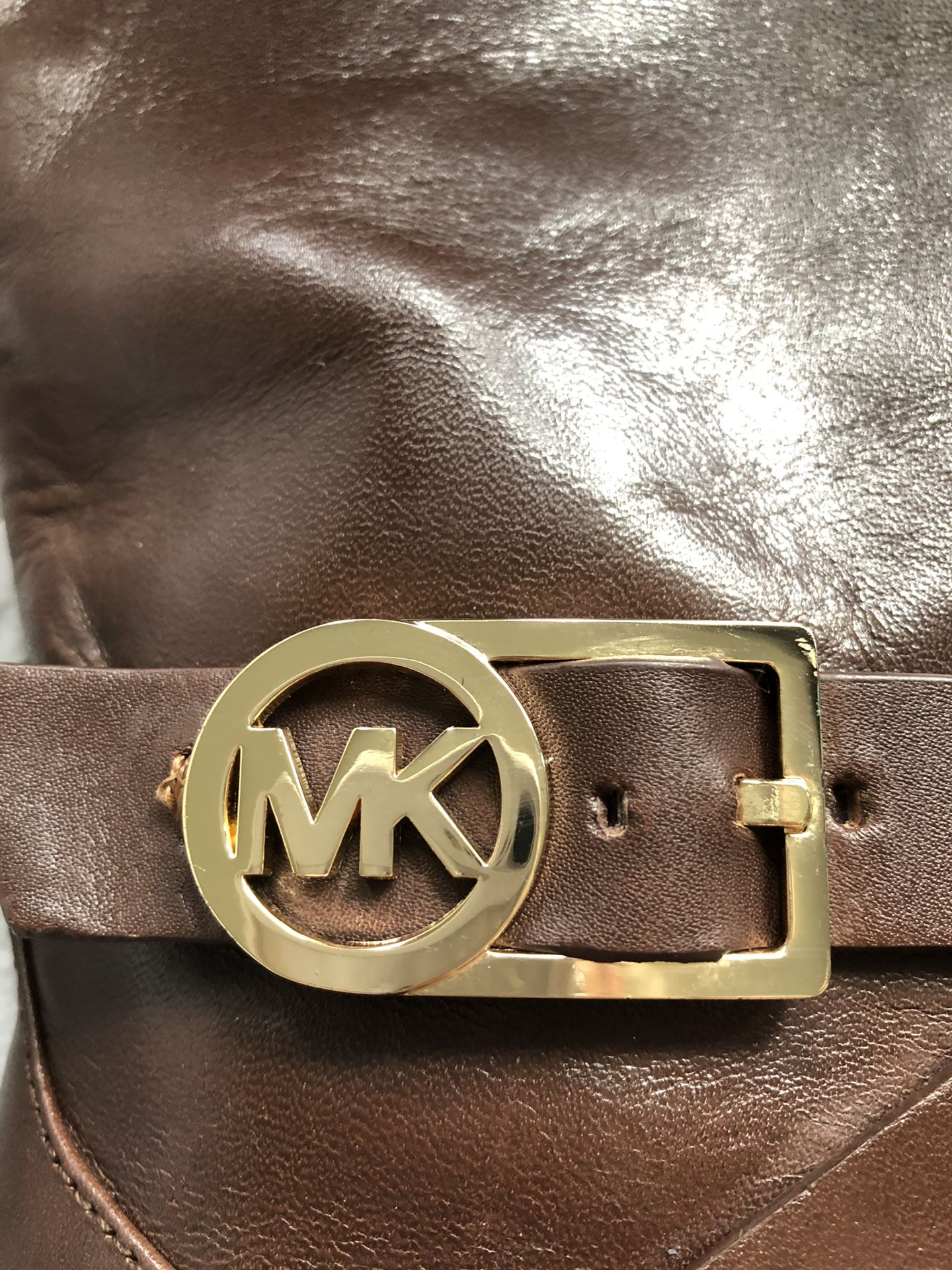 Authentic Michael kors brown boots woman's size 8