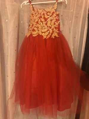 Red girl dress for Sale in Manassas, VA