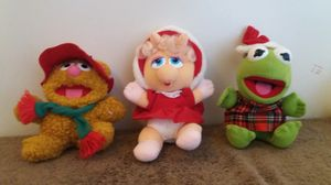 Photo McDonalds Ms Piggie, Kermit, Fozzie