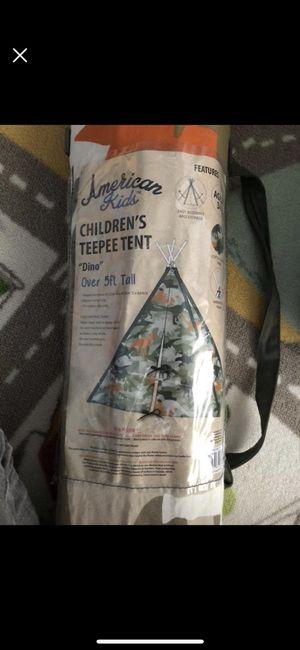 Children's teepee tent for Sale in Springfield, VA