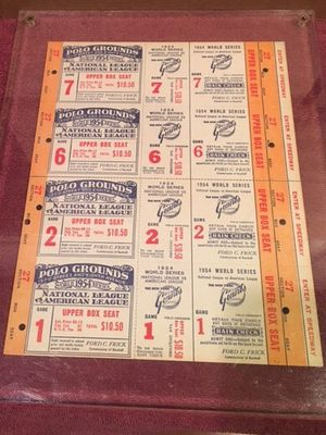 Vintage baseball tickets for Sale in Los Angeles, CA
