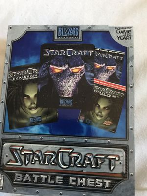 Starcraft battle chest for Sale in Sumner, WA