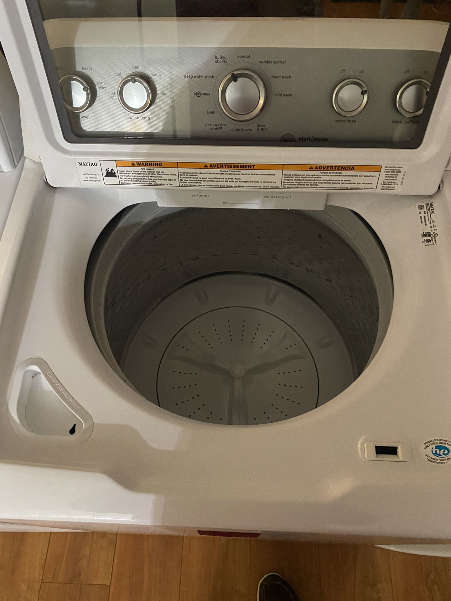 This is a tremendous set of washer and dryer