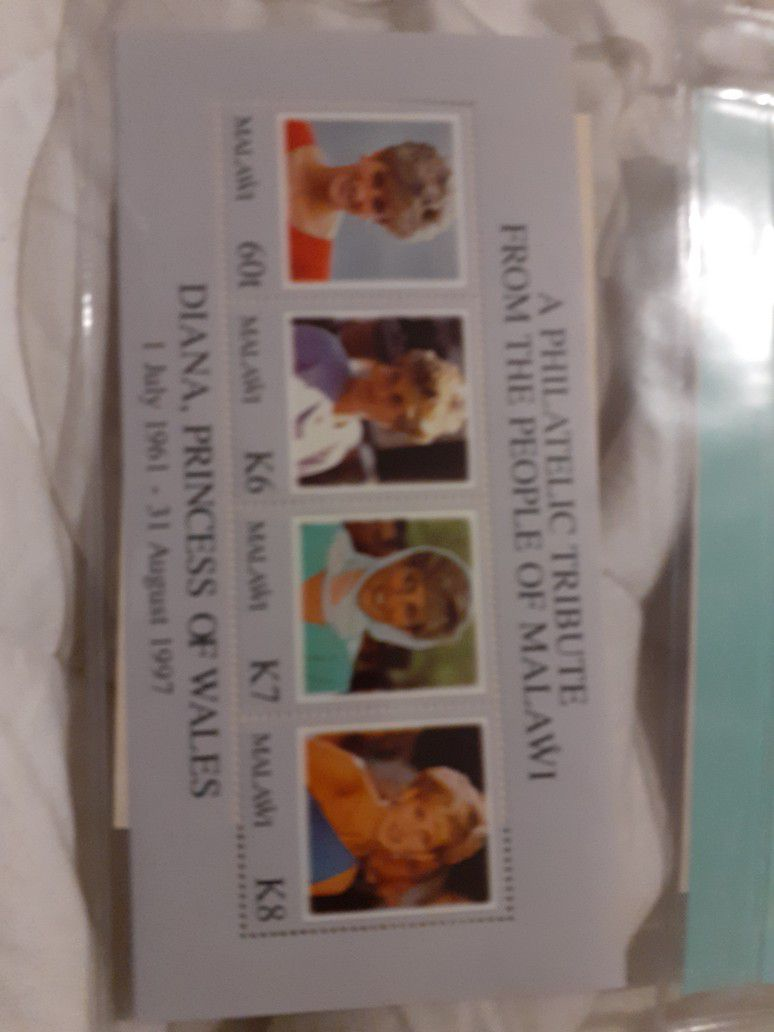 Set Of Princes Diana Of Wales 3 Sets Total With Certificates