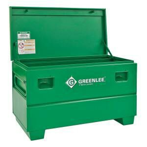 fe7c70388e5 Like new Greenlee Gang box   Job Site Tool storage cabinet for sale. 4ft  model.