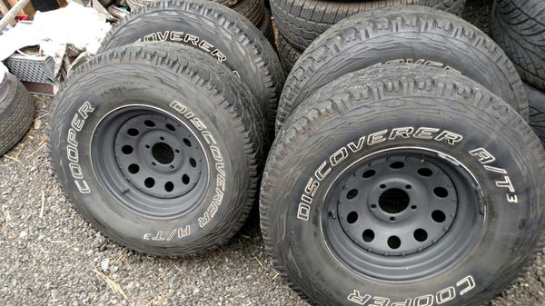 31×10 50r15 Tires >> 31 10 50r15 Tires And Wheels 80 Tread 5 114 3 Bolt Pattern Jeep Cherokee Ford Ranger Explorer For Sale In Kent Wa Offerup