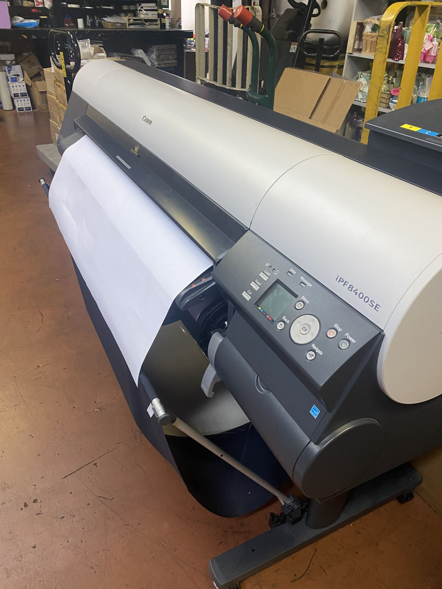 Large Format Inject Printer