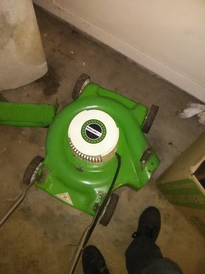 Photo Sears Craftsman electric lawn mower