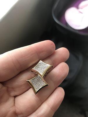 Men's 10 karat gold earrings for Sale in DeBary, FL