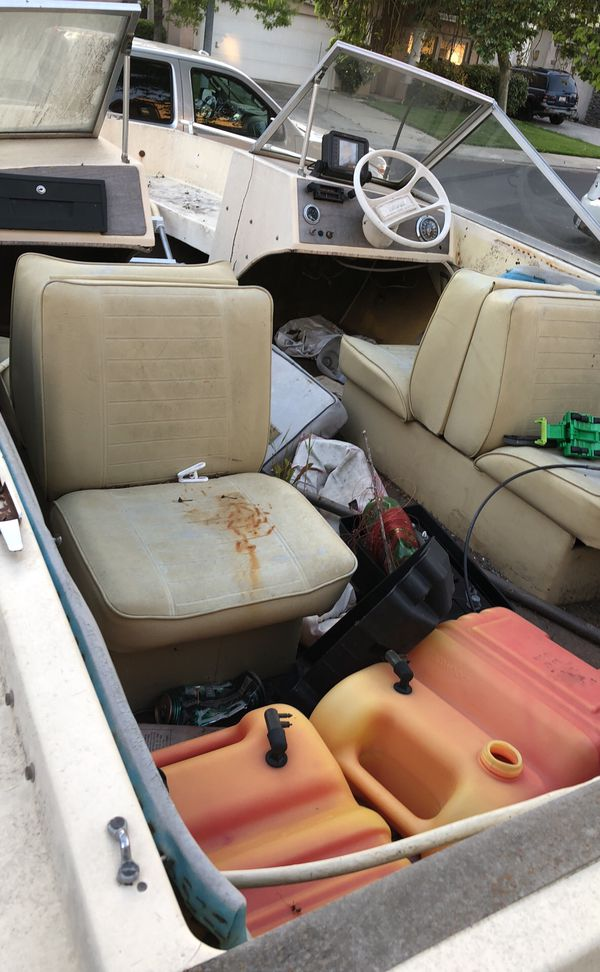 100 boat comes with trailer no motor for sale in stockton ca offerup