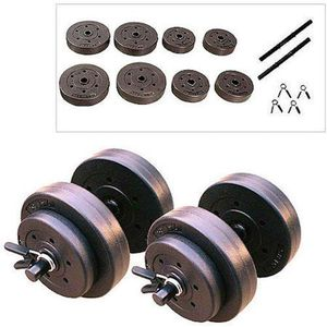 40 Lb Vinyl Dumbbell Set Weight Adjustable Hand Weights Dumbbells for Sale in Brooklyn, NY