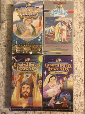 Bible story VHS tapes for Sale in Gretna, NE