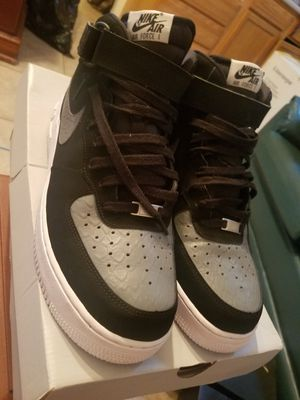 innovative design 57b3a 07190 Nike Air Force 1 Mid 07 Black Wolf Grey Sz 12 for Sale in Phoenix