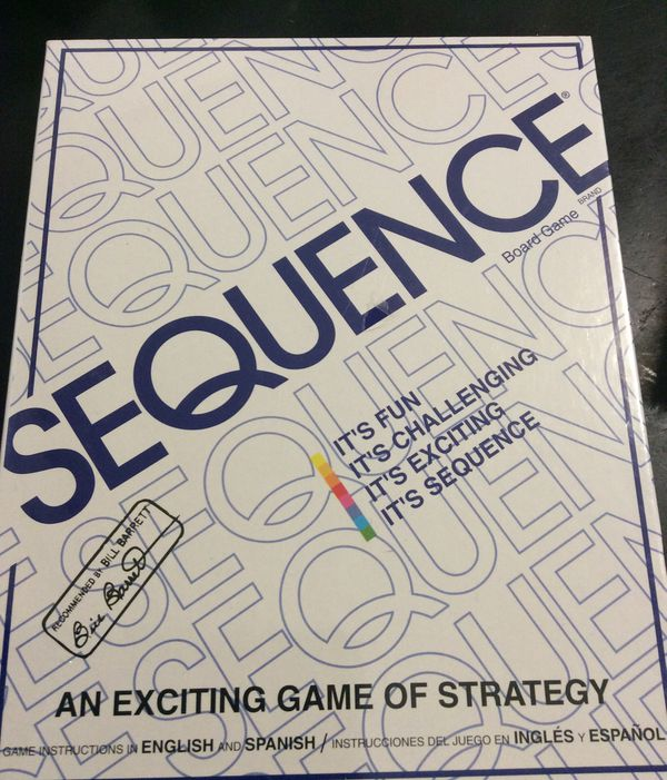 Sequence Game By Jax Strategy Board Game New For Sale In Oxnard