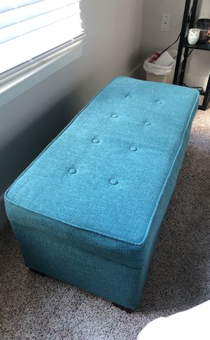 Blue Ottoman for Sale in Orlando, FL