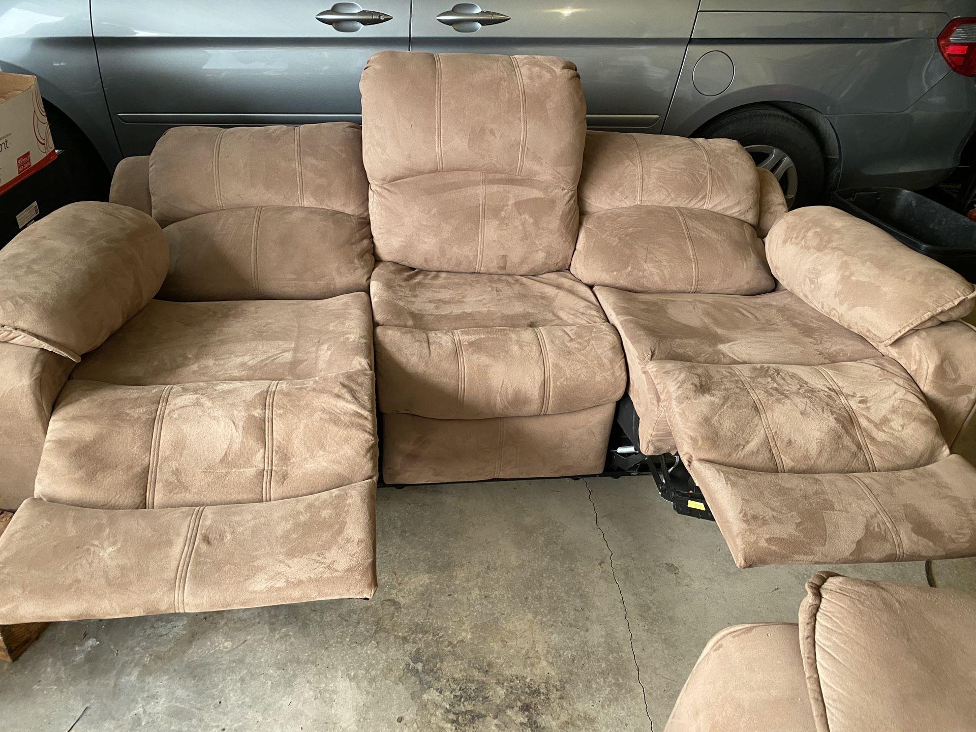 Brand New Love Seat and Sofa