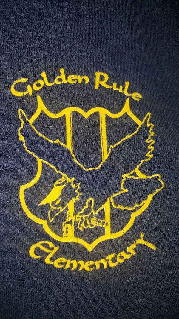 Golden Rule Charter School Uniform Shirts 5each Xsmall Medlarge