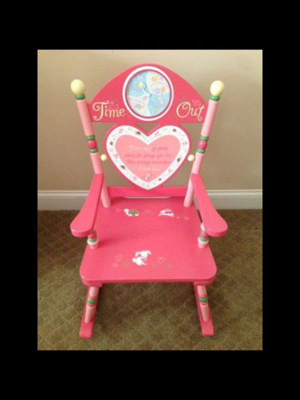 Little Girls Time Out Chair For Sale In Saint Johns Fl Offerup
