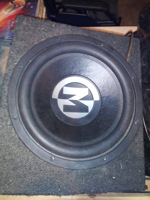 12in Memphis Car Audio. Subwoofer for Sale in Tipp City, OH