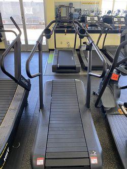 Cascade UltraRunner Curve Treadmill wSled Thumbnail