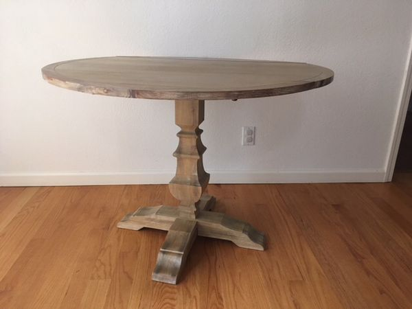 Pier One Wood Dining Table Drop Leaf Round For Sale In San Jose Ca Offerup