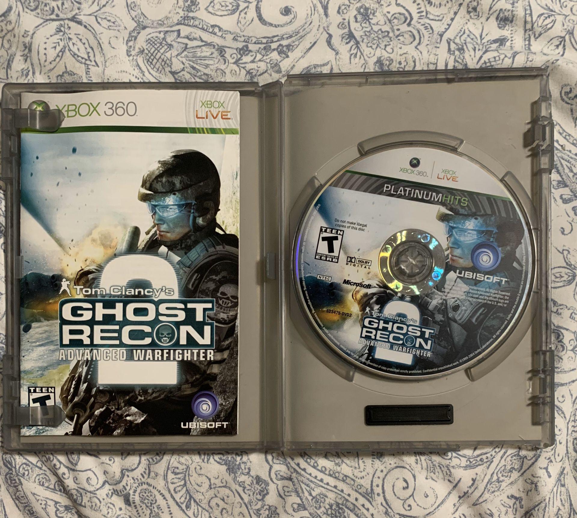 Tom Clancy's Ghost Recon Advanced Warfighter 2 (Xbox 360)
