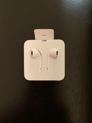Apple brand EarPods with lightning connector NEW for Sale in Arlington, VA