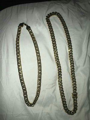 Gold Cuban link chain for Sale in Sunrise, FL
