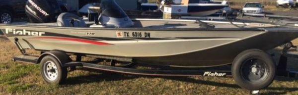 2007 pro hawk fishing boat