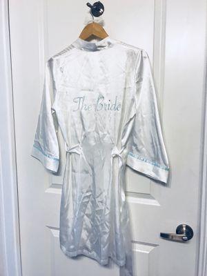 Wedding, bride robe, hanger and bridesmaid sash for Sale in Dallas, TX