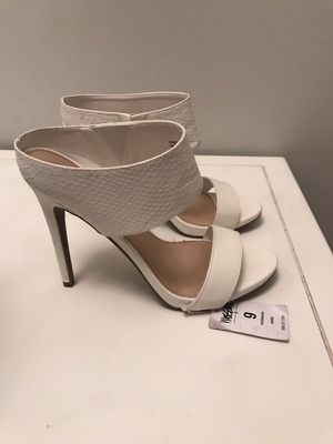 Mossimo White Sandal Heels sz 9 for Sale in Denver, CO