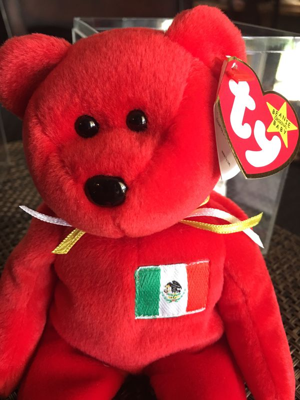 8e4200ccd9e Ty Beanie Babies OSITO 1999 RETIRED and EXTREMELY RARE with ERRORS  ~Collectibles ~Teddy Bears~Club Team Beanies