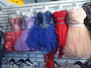 Photo New rhinestones dresses on sale $35 each Nuevos vestidos de piedreria a $35 en special