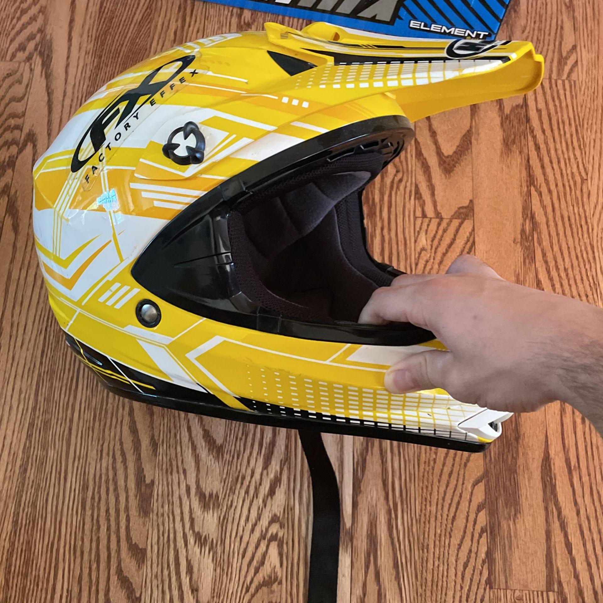HJC dirt bike helmet